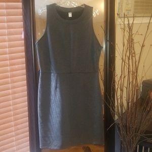 The perfect dark grey dress